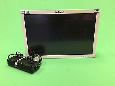 "Karl Storz 23"" HD WideView Monitor with Power Brick & New Screen SC-WU23-A1515"