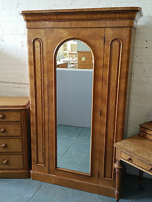 Antique Victorian Wardrobe Chest of Drawers Dressing Table
