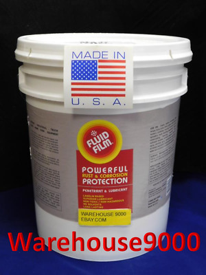 5 GALLON CONTAINER OF FLUID FILM With 100 Rust Plug Buttons *Bonus 5 Pair Gloves