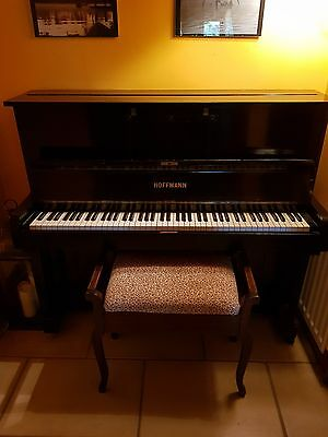 Hoffmann Piano, 50 plus years old, upright acoustic.