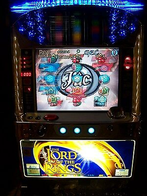 LOT OF 2 LORD OF THE RINGS=RARE Pachislo TOKEN Slot Machines+many tokens=VGC