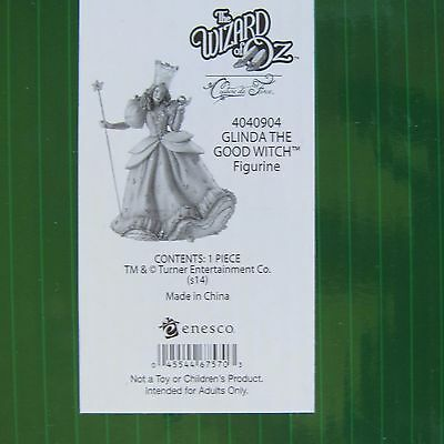 The Wizard of OZ Couture de Force Glinda the Good Witch - Enesco 4040904 NIB New