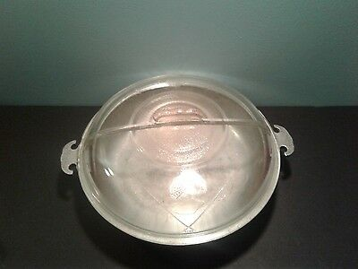 Vintage Guardian ware aluminum LARGE sized cooking pot glass lid NICE LQQK