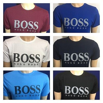 Hugo Boss Short Sleeve Crew Neck Regular Fit T-Shirt For Men