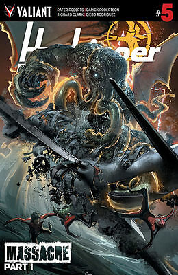 HARBINGER RENEGADE #5 (COVER C) Death of a major character - warning cover