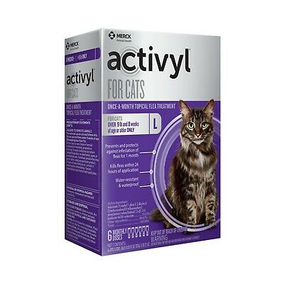Activyl for Cats Over 9 lbs - 6 Month Supply