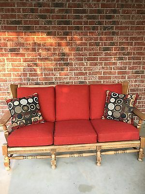 Mid Century Modern couch (sofa) & chair