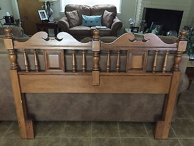 Antique Full/Queen 8109H Headboard By Tell City Chair Company Furniture.