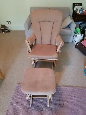 Dutailier Nursing Glider Chair with Foot stool