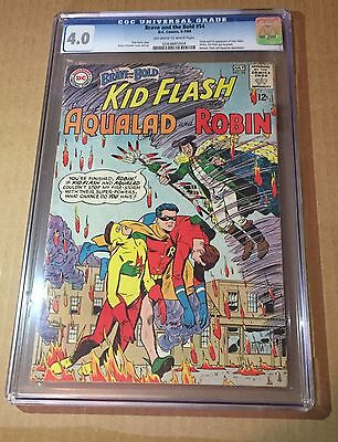 BRAVE AND THE BOLD # 54 CGC 4.0 Origin And 1st Appearance Of TEEN TITANS