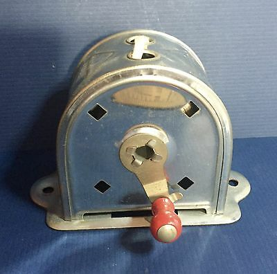 Vintage Acme Wall Mount Retractable Tin Laundry Double Clothes Line WORKS GREAT!