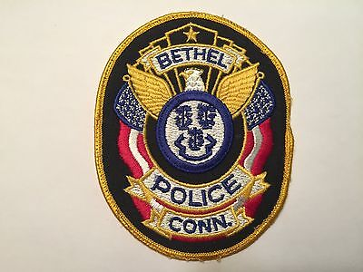 Bethel CONNECTICUT Police Patch