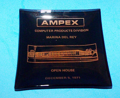 AMPEX Computer Products Division 1971 Promotional Ashtray