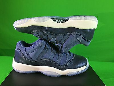 Nike Air Jordan 11 XI Retro BLUE MOON low 580521 Size 5y NEW!!