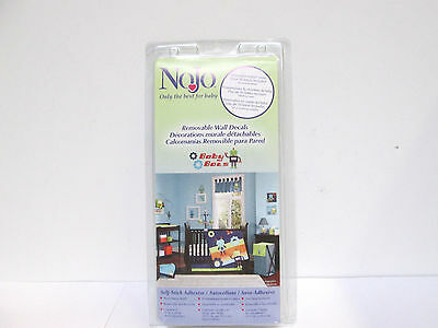 NoJo Removable Wall Decals - Baby Bots Robots w/ over 50 Letters Included [EH-N]
