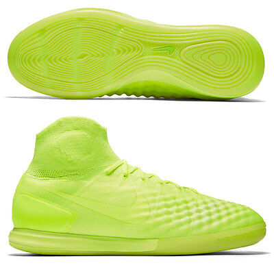 Nike MagistaX Proximo II IC Indoor Soccer Cleats Shoes Boots Men 9 NEW Volt Ice