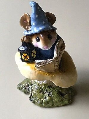 Wee Forest Folk Elf Tales, retired, blue hat