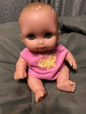 "Vinyl Baby Doll Berenguer 9"" Babies 28-10 Girl Child Poseable Jointed"