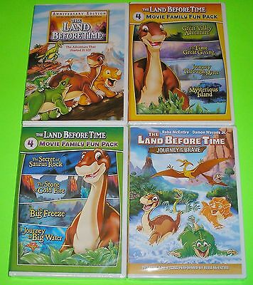 Kid DVD Lot - The Land Before Time (Used) Walking with Dinosaurs (New)