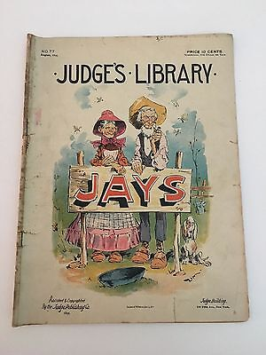 Antique Judges Library Magazine Publication No. 77 June 1895