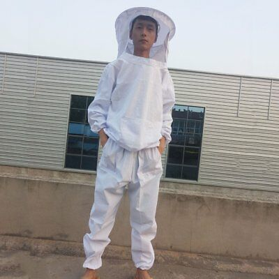 Comfortable Body Protective Beekeeping Suit Set Breathable Defend Bee Clothing F