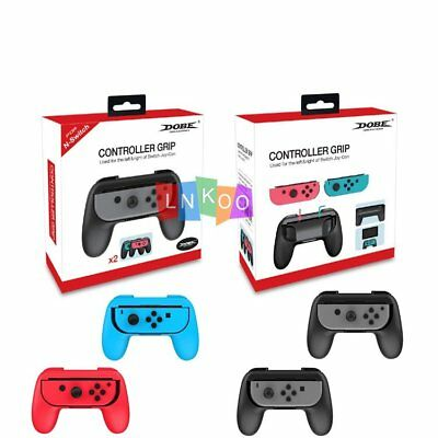 2 Pack For Nintendo Switch Joy-Con Grips Kit Controller Handle Handheld Holder