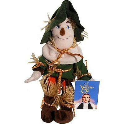 """WARNER BROTHERS STUDIO STORE WIZARD OF OZ The SCARECROW 11"""" BEAN BAG PLUSH TOY"""