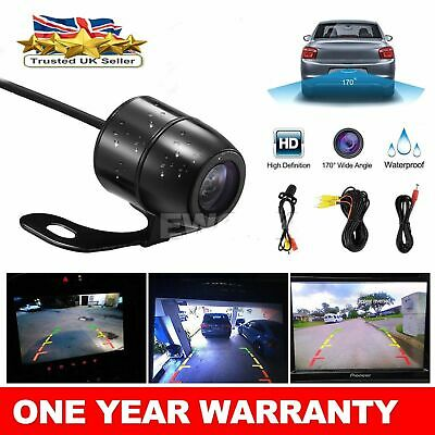 Auto Rear View Camera 360 Degree Adjustable Angle Flush Mount 22mm Hole Drilling