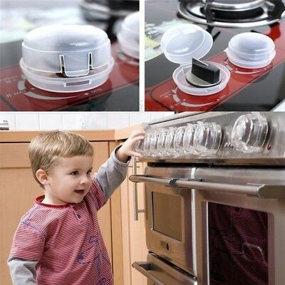 2pcs Baby Kitchen Safe Cover Cookware Safe Protector Gas Stove Knob Cover