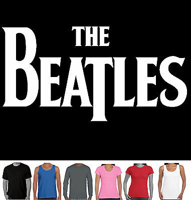 The Beatles Men's Ladies Logo T-Shirts Singlets Aussie store long sleeve new