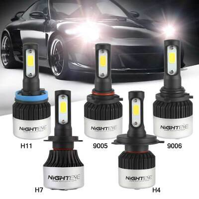 Nighteye H7 PHILIPS CSP LED Headlight Single Beam Bulbs 6500K Xenon White Lamp