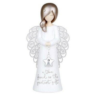 You are an angel figurine A TRUE FRIEND New 125mm