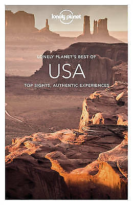 Best of USA By Lonely Planet Paperback Free Shipping