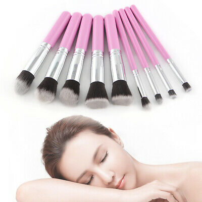 12 Pro Makeup Brushes Set Kabuki Foundation Powder Eyeshadow Lip Brush Tool