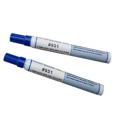 Free-cleaning Soldering Flux Pen For Solar Cell & FPC/ PCB 951 10ml Capacity 1X