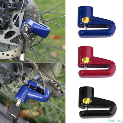 1 Pcs Safe Motorcycle Anti Thief Electric Handle Wheel 7mm Disc Brake Locks