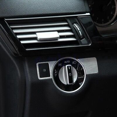 Chrome Head Light Switch Button Cover Trim for Benz W212 C E Class CLS CLA GL