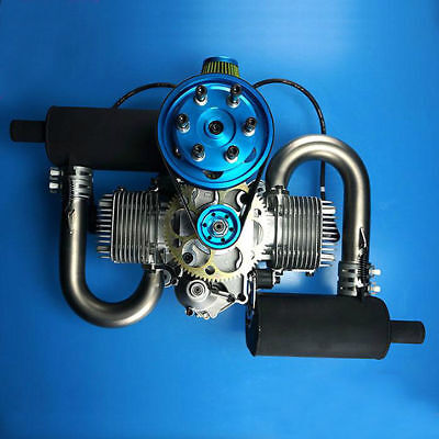 DLE200 Paramotor engine Paragliding engine  electric start  17.5HP/7500rpm