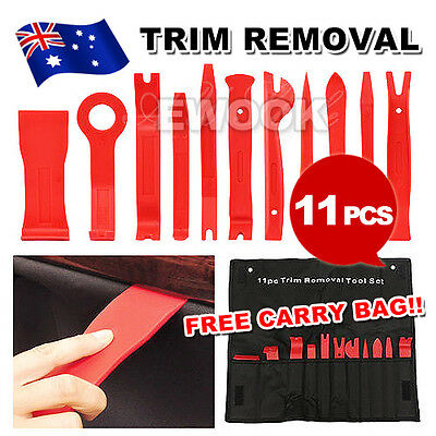 11pcs Car Auto Body Door Panel Console Dashboard Trim Removal Plastic Tools Set