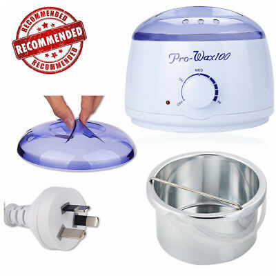 Pro Waxing Wax Paraffin Pot Warmer Heater Facia Skin Hair Removal Beauty Machine