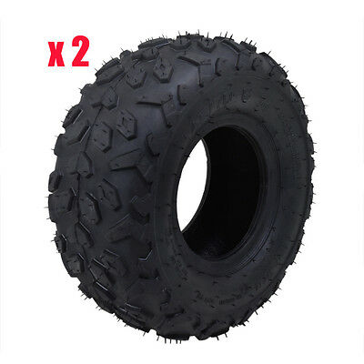 "2pcs 145/70-6"" inch Tire Tyre 90/110cc ATV Quad Bike Buggy Go Kart Mower Trailer"