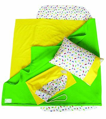 JLYBNZ Kindy Sheets - Pineapple colour OLD STOCK  ON SALE (Free Pillow)