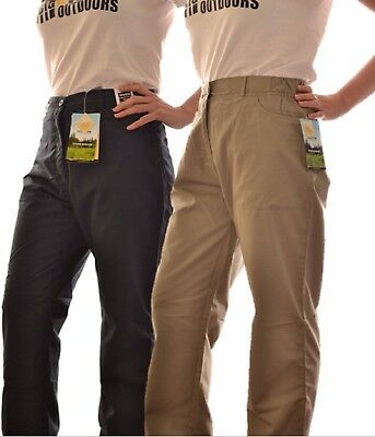 Regatta Ladies Os V Trousers Travel Navy Beige Or Khaki Wj139