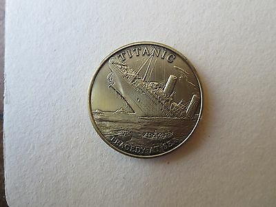 Stunning Titanic Coin Tragedy At Sea  by Tropicana #04502 1999