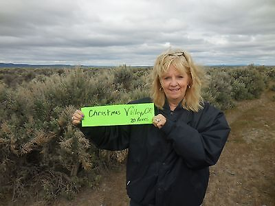 20 Acres Christmas Valley, OR - Owner Financing $14,900 at 0% interest