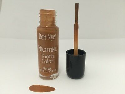 Ben Nye Tooth FX Liquid Paint On Tooth Color Nicotine