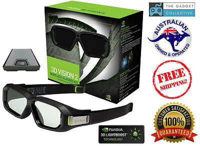 Nvidia 3D Vision 2 Wireless Glasses Kit for 3D Games and Videos