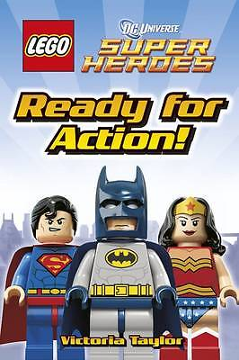 LEGO DC Super Heroes Ready for Action! by Victoria Taylor-9781409366133-G044