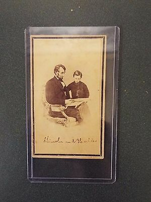 Small Picture of Abraham Lincoln Reading the Bible - Undated