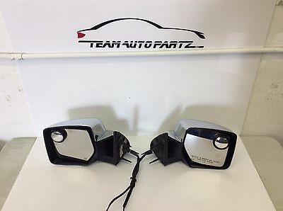 Dodge Nitro Left And Right Mirrors W/out P.fold W/heat 2007 2008 2009 2010 2011